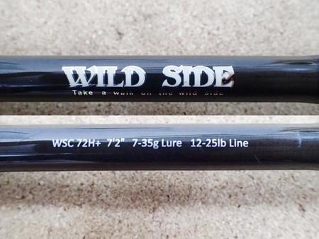 レジットデザイン WILD SIDE ワイルドサイド WSC 72H+【中古Cランク】