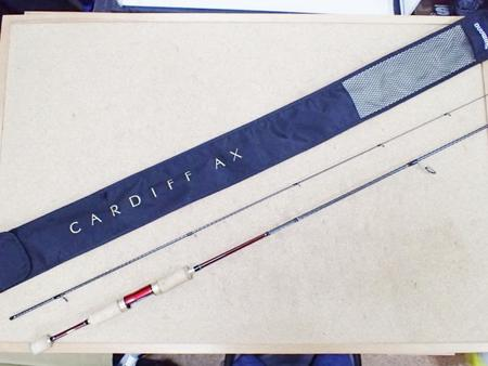 SHIMANO シマノ CARDIFF カーディフ AX S62UL-F【中古Cランク】