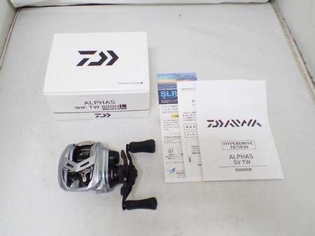 Daiwa ダイワ '21 ALPHAS アルファス SV TW 800HL【中古Aランク】