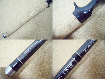 Daiwa ダイワ BLACK LABEL ブラックレーベル BL-PF701HFB【中古Cランク】