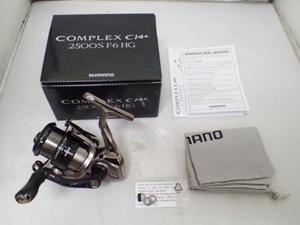 SHIMANO シマノ '17 コンプレックス CI4+ 2500S F6 HG【中古Cランク】