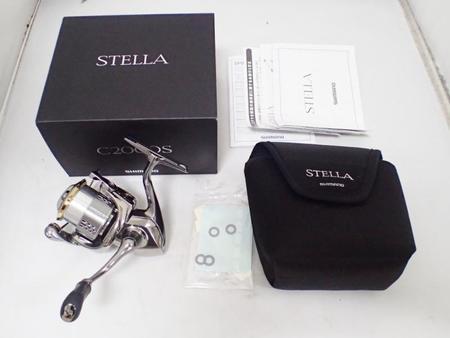 SHIMANO シマノ '18 STELLA ステラ C2000S【中古Sランク】