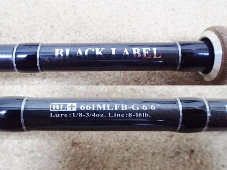 Daiwa ダイワ ブラックレーベル+ BL+ 661MLFB-G【中古Cランク】